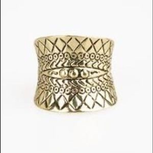 ✨3 for $10✨ Brass tribal ring